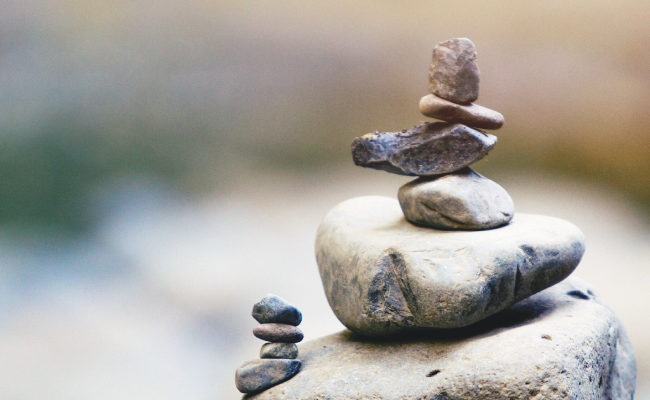 Shake up your routine to find balance again