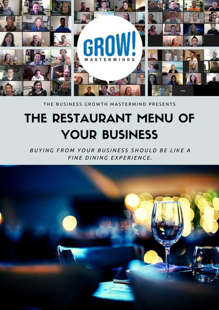 The Restaurant Menu of Your Business